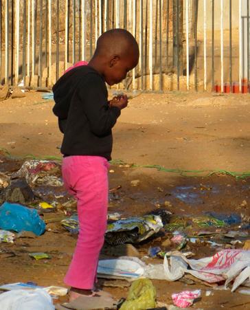 Los niños somalíes también pasan hambre
