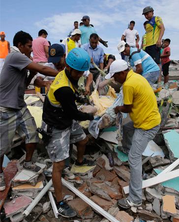 ¡Ayuda para Ecuador!