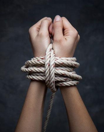¡Por el fin de la trata de seres humanos!
