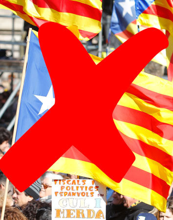 Firma en contra de la Independencia de Cataluña