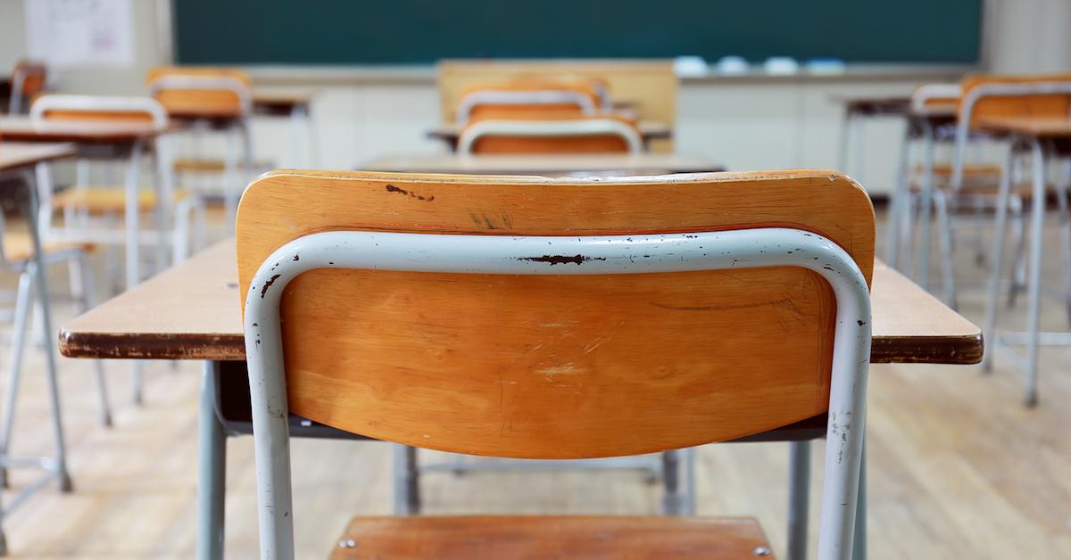 aulas vacías en todo el mundo