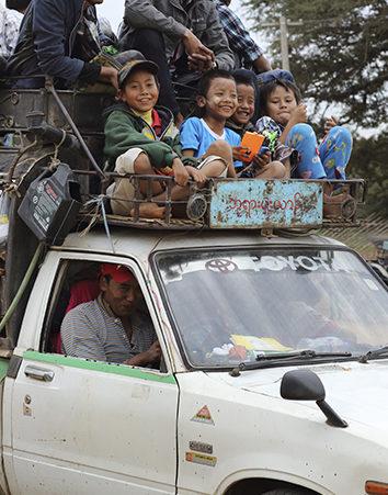 Situación alarmante en Birmania: ayuda a los refugiados