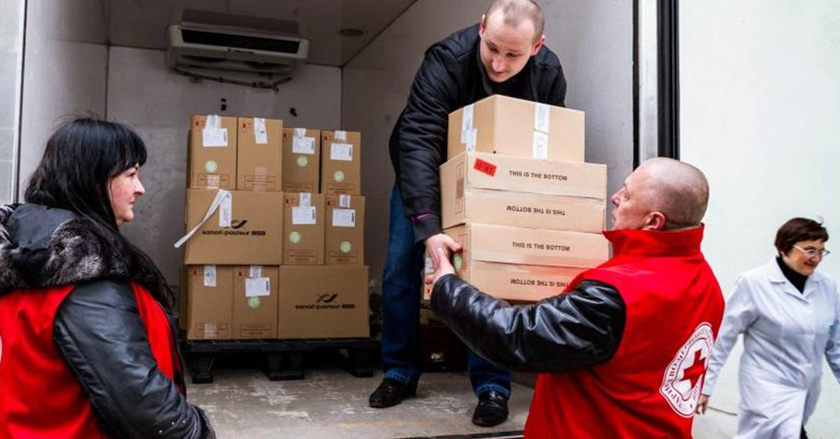 Ayuda humanitaria para los refugiados (iStock)